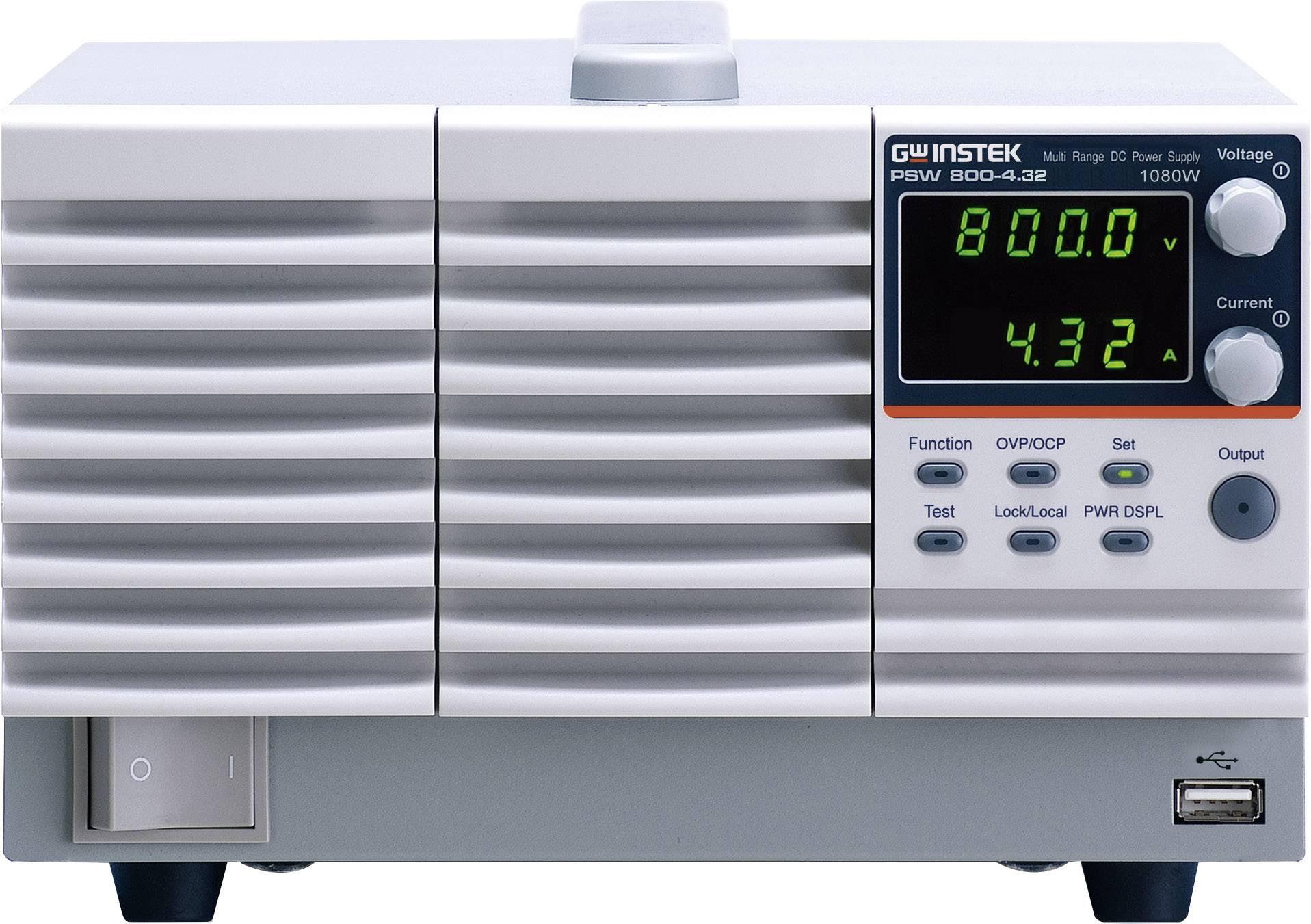 Laboratorní zdroj s nastavitelným napětím GW Instek PSW 800-4.32
