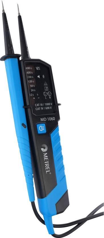 Digitálna skúšačka napätia Metrel MD 1060 12 - 690 V AC / DC LED CAT III 1000 V, CAT IV 600 V