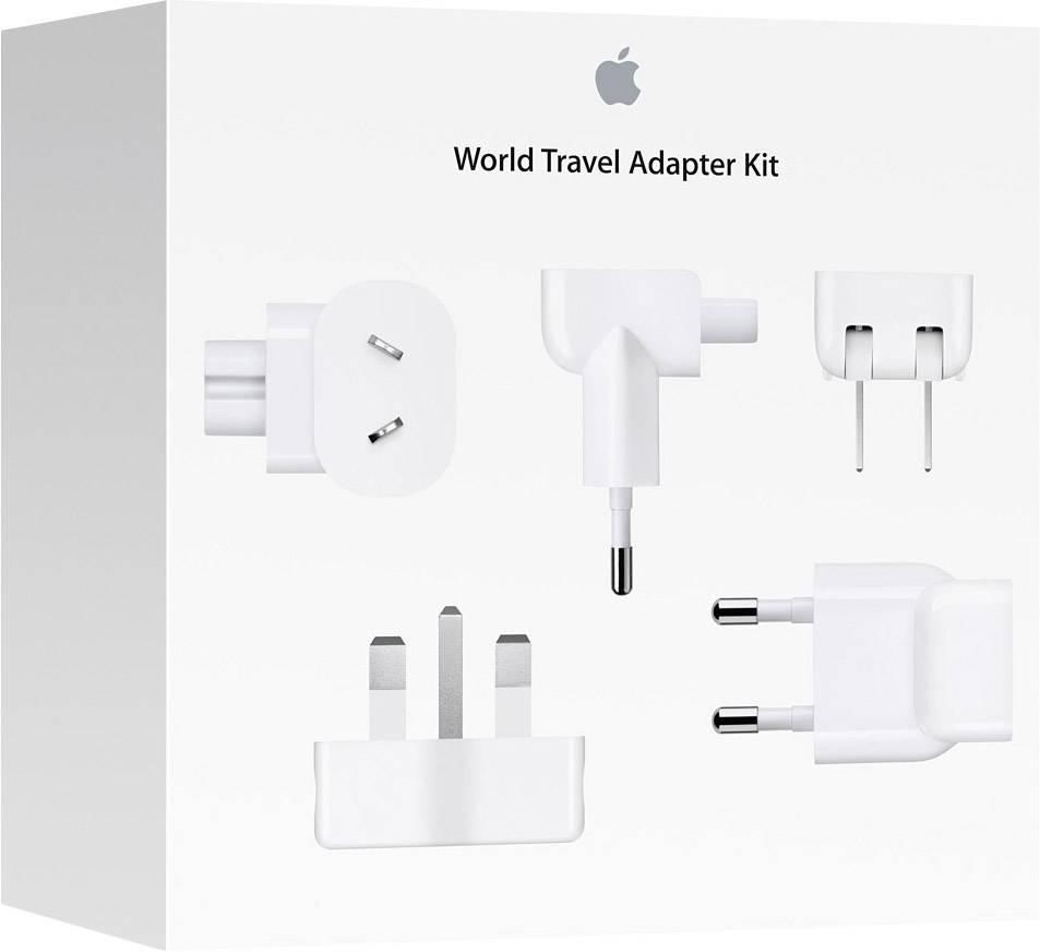 Cestovní nabíječka MD837ZM/A Vhodný pro přístroje typu Apple: iPad, iPhone, iPod, MacBook