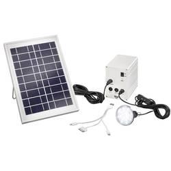 Solární nabíječka a LED svítidlo 2 v 1 Esotec Multipower 5W 120001, 5 V, 6 V