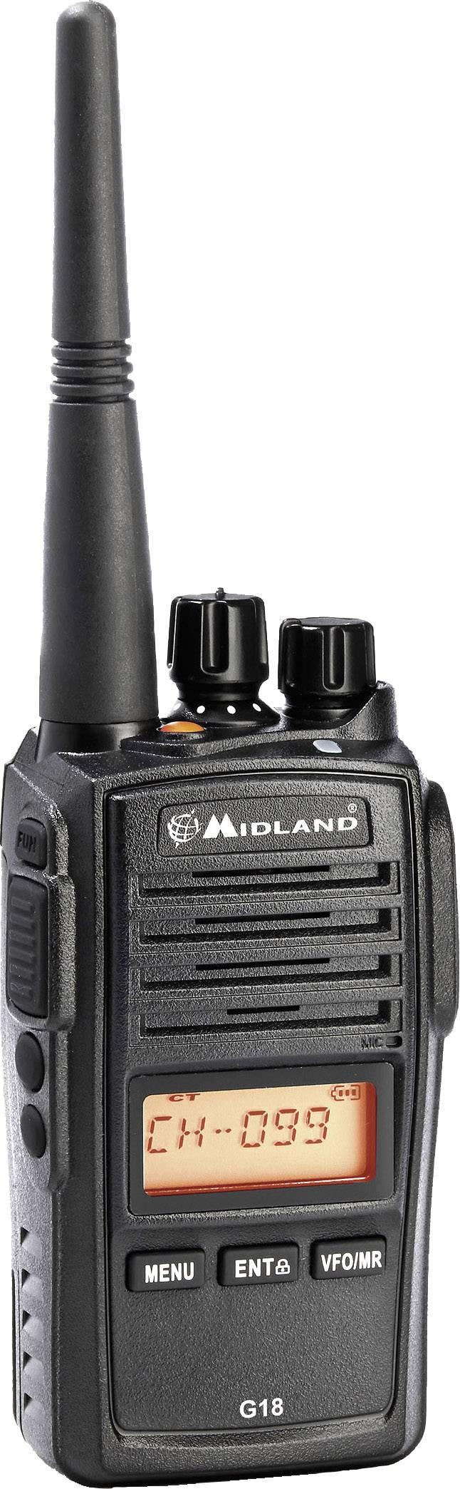 PMR radiostanice Midland G18 C1145