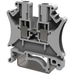 Průchodková svorka šroubovací Degson PC2.5-01P-11-00AH, 5.2 mm, šedá, 50 ks
