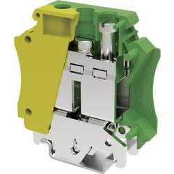 Svorka ochranného vodiče šroubovací Degson PC35-PE-01P-1Y-00AH, 12.8 mm, žlutozlená, 1 ks