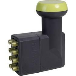 Satelitní konvertor pro připojení 8 SAT příjímačů Octo LNB Humax 182-B Gold Počet účastníků: 8 Velikost feedu: 40 mm se switchem