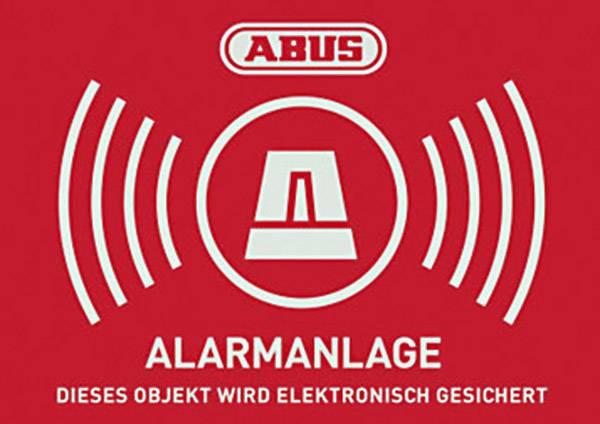 Výstražná samolepka Jazyky němčina (š x v) 148 mm x 105 mm ABUS AU1422