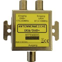 Antenní rozbočovač UKW , DAB+ Wittenberg Antennen UKW & DAB+