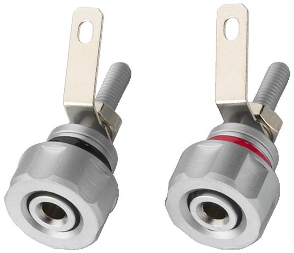 Připojovací reproduktorová svorka Monacor BP-410