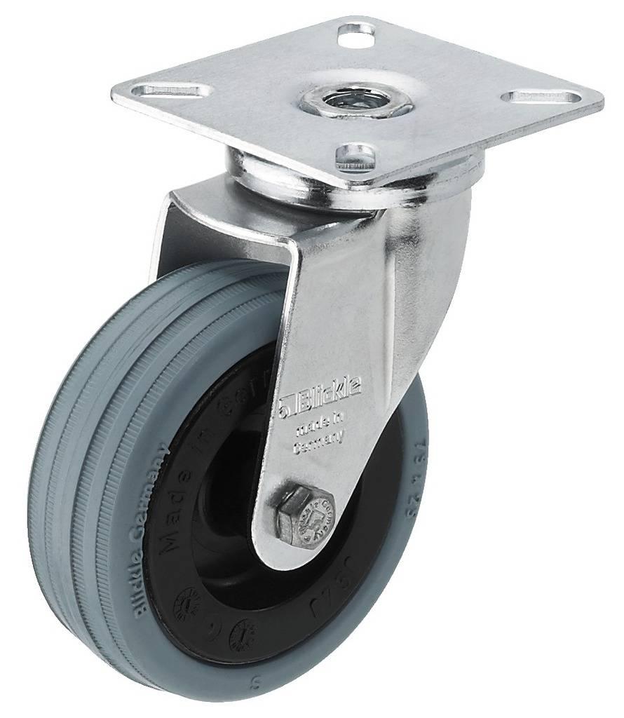 Kolečko pro reproduktor Monacor GCB-75, Ø 75 mm, nosnost (max.): 60 kg, 1 ks
