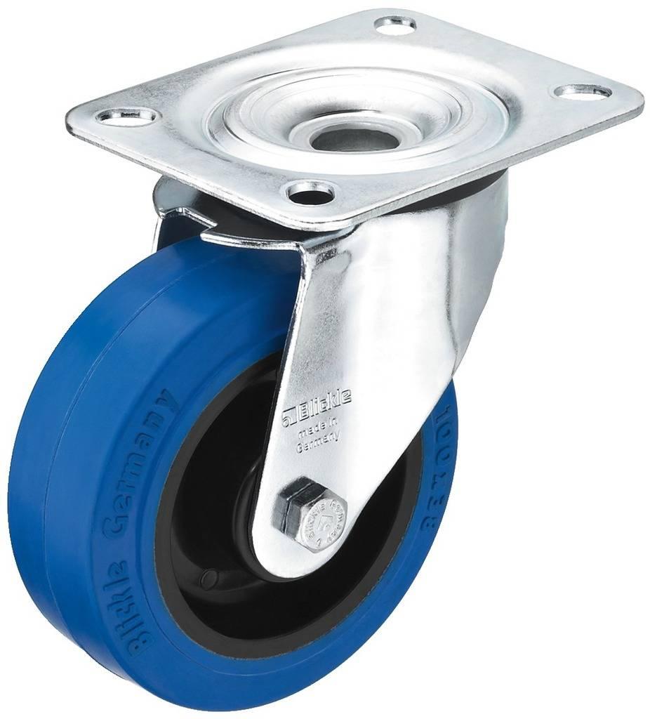 Kolečko pro reproduktor Monacor GCBB-100, Ø 100 mm, nosnost (max.): 150 kg, 1 ks