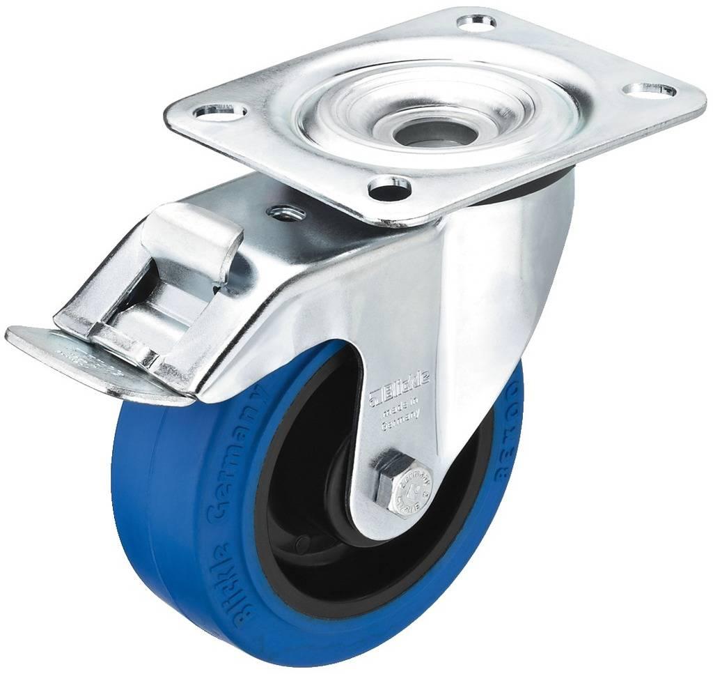 Koliesko s parkovacou brzdou Monacor GCBB-100B, Ø kolesa 100 mm, Nosnosť (max.): 150 kg, 1 ks