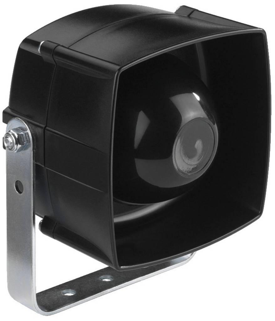ELA tlakový reproduktor Monacor NR-254KS, 25 W, černá, 1 ks