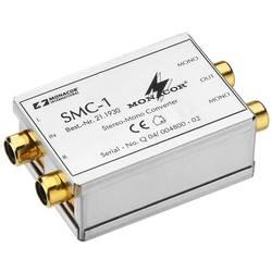 Stereo mono převodník Monacor SMC-1