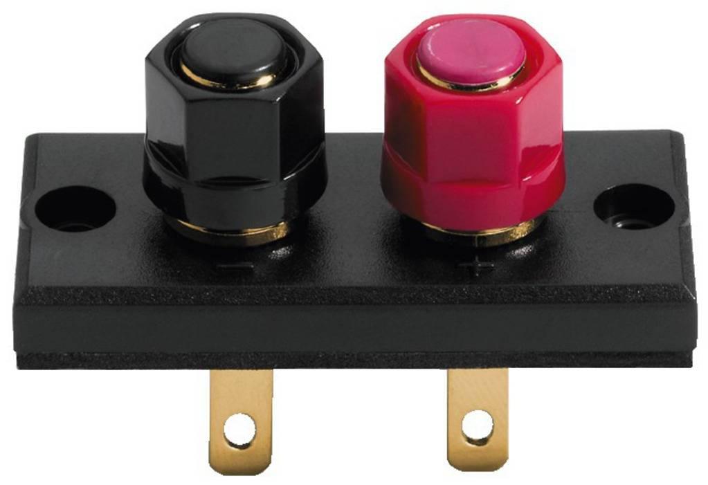 Šroubovací reproduktorový konektor Monacor ST-925G