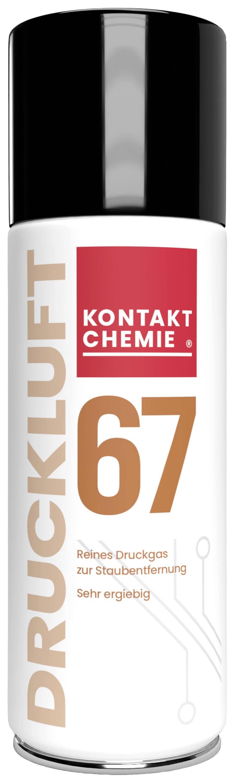 Sprej se stlačeným vzduchem nehořlavý CRC Kontakt Chemie DUST OFF 67 33167-AA, 400 ml