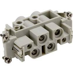 Konektorová vložka, zásuvka EPIC® Power K 4/0 44424044 LAPP počet kontaktů 4 + 2 + PE 10 ks