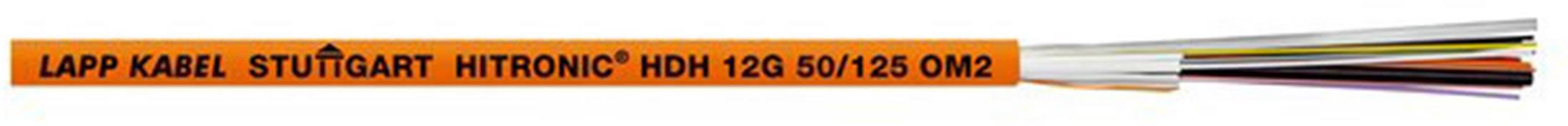 Skleněné vlákno LAPP HITRONIC HDH 4G 62.5/125 OM1 26010104, oranžová, 500 m