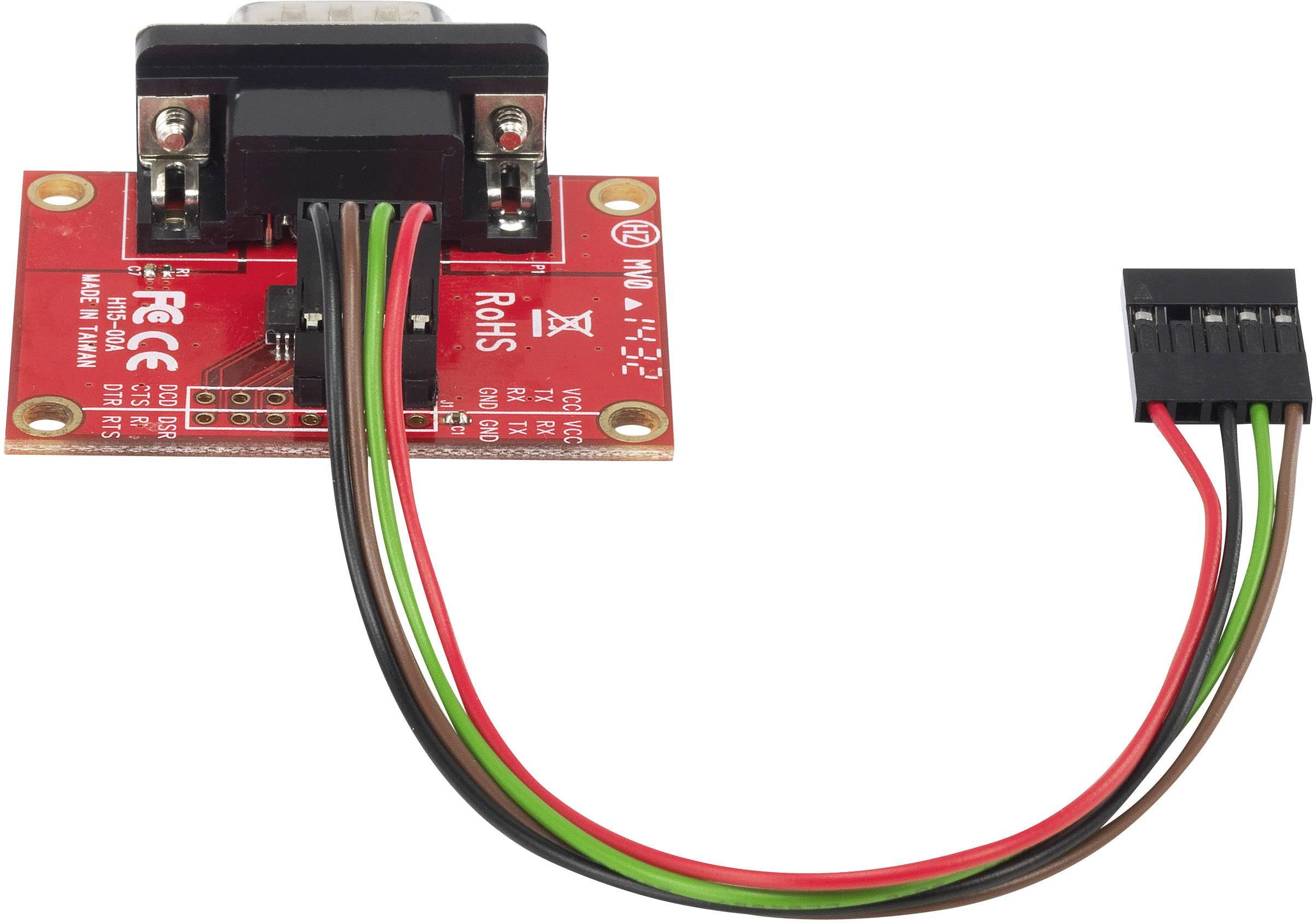 Adaptér pro připojení rozhraní RS 232 do mini počítač Raspberry Pi