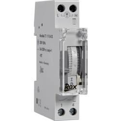 Časovač na DIN lištu REX Zeitschaltuhren 910402, 230 V, 16 A/250 V