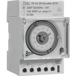Časovač na DIN lištu REX Zeitschaltuhren 926116, 230 V, 16 A/250 V