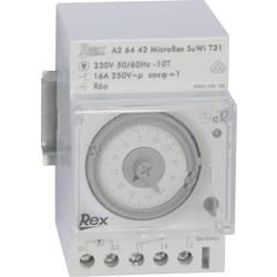 Časovač na DIN lištu REX Zeitschaltuhren A26442, 230 V, 16 A/250 V