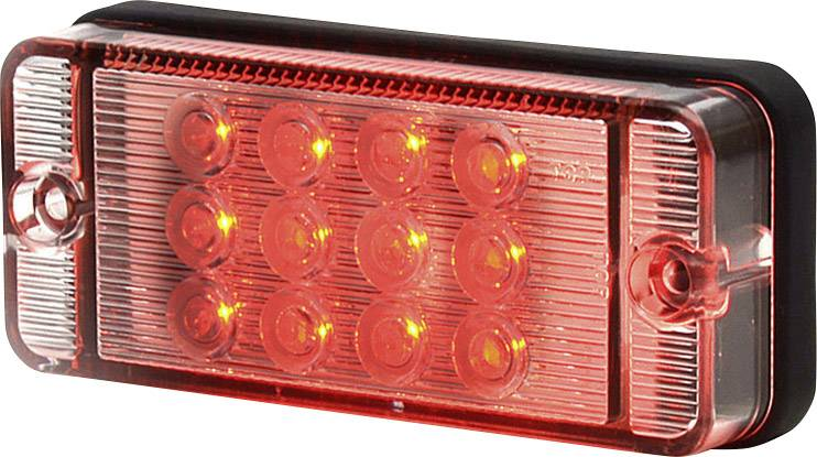 Zadní mini LED obrysové světlo SecoRüt, 95700, transparentní