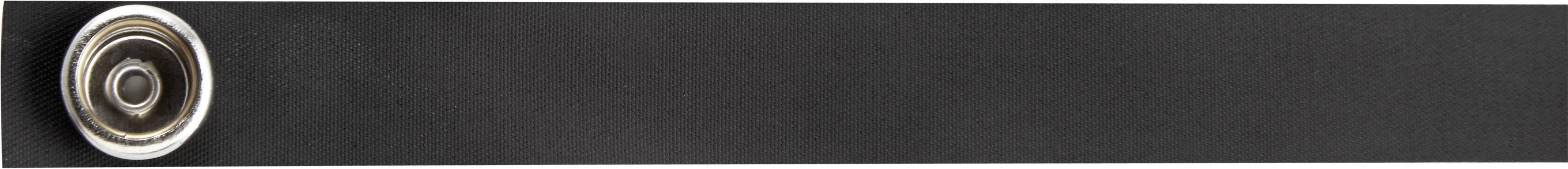 Kontaktní páska pro vysoké boty Wolfgang Warmbier 1 ks, černá