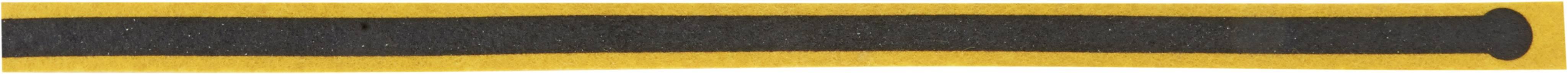 ESD jednorázové zemnící pásky na boty Wolfgang Warmbier 2560.894, 1 ks, žlutá, černá