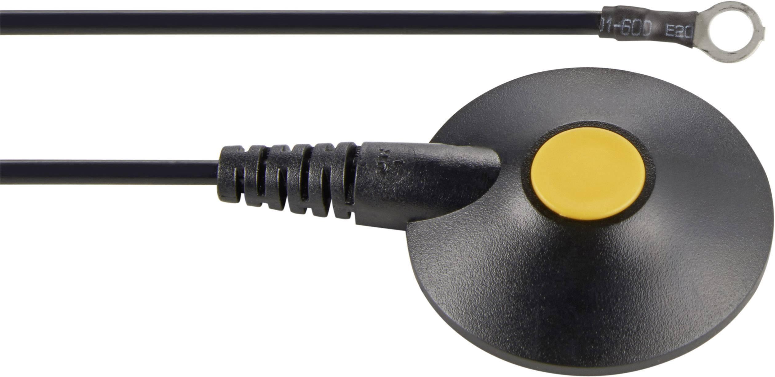 ESD uzemňovací kábel Wolfgang Warmbier 2250.790, 1.80 m