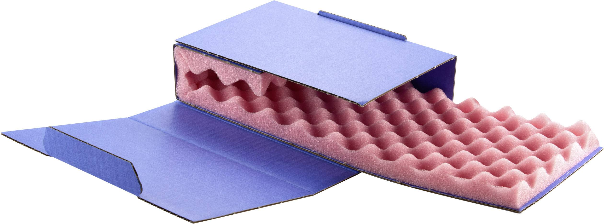 ESD krabica Wolfgang Warmbier 5510.907, (d x š x v) 200 x 140 x 50 mm, modrá