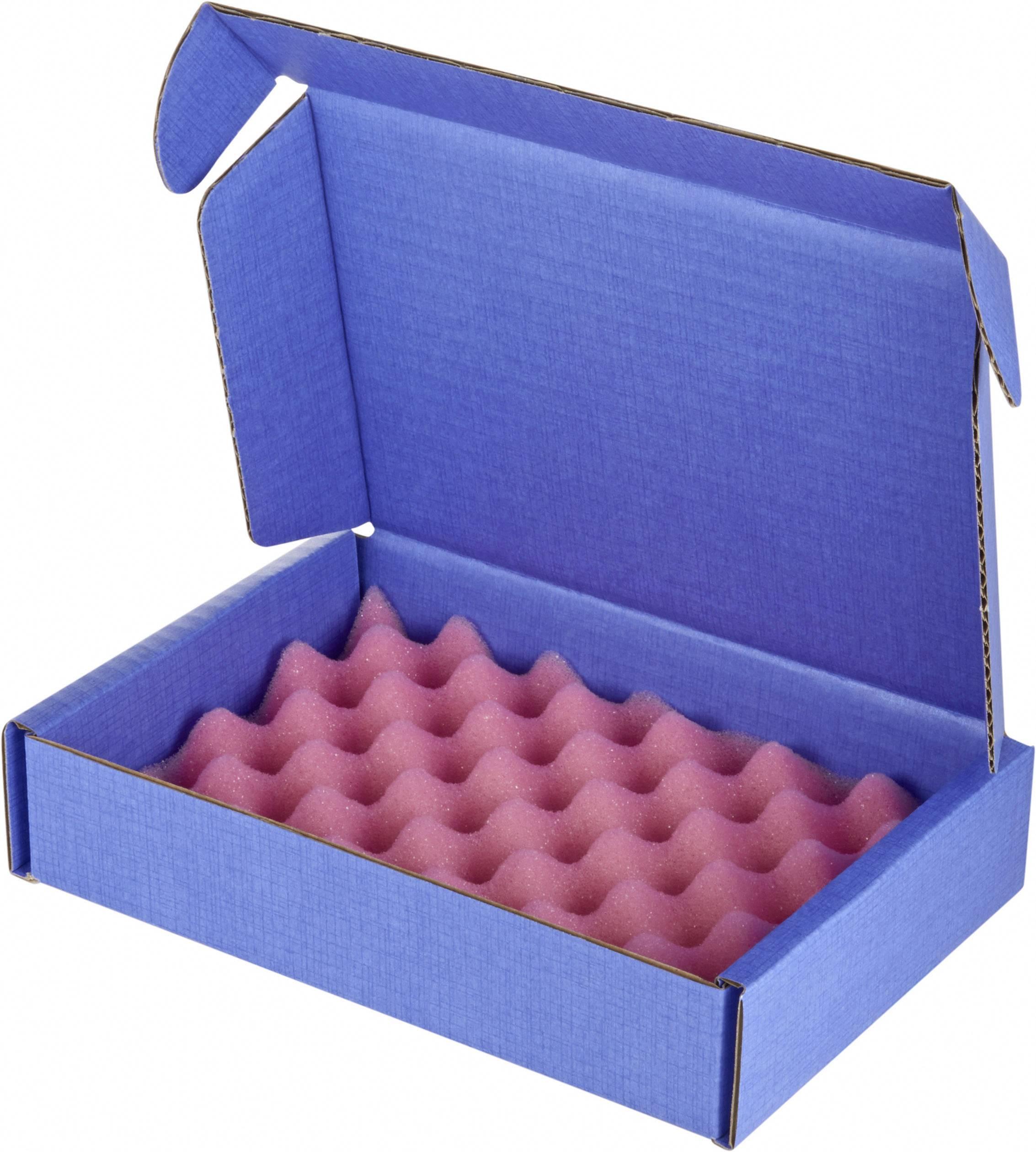 ESD krabica Wolfgang Warmbier 5510.903.A20, (d x š x v) 183 x 127 x 38 mm, modrá