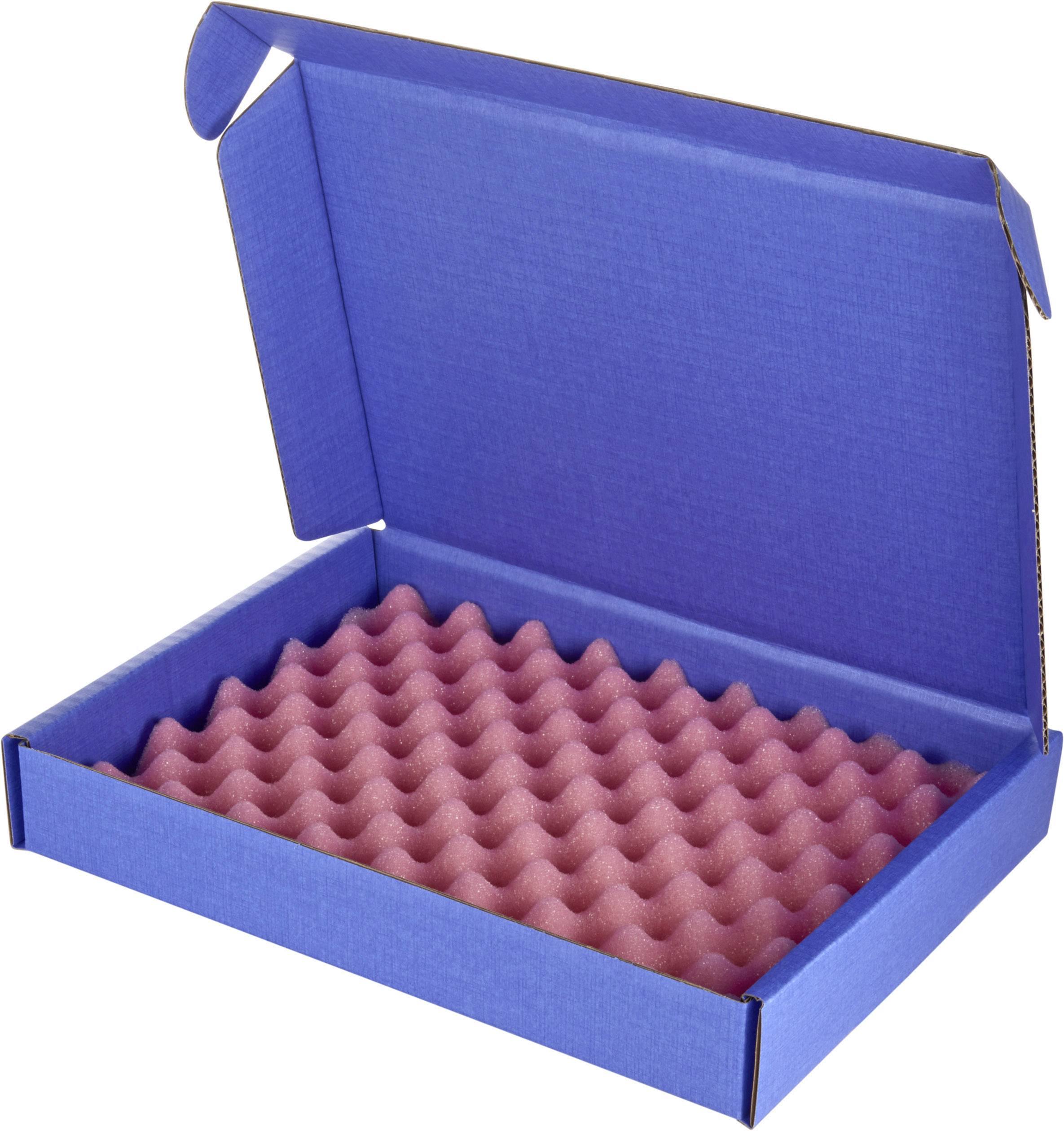 ESD krabica Wolfgang Warmbier 5510.904.A20, (d x š x v) 250 x 191 x 38 mm, modrá