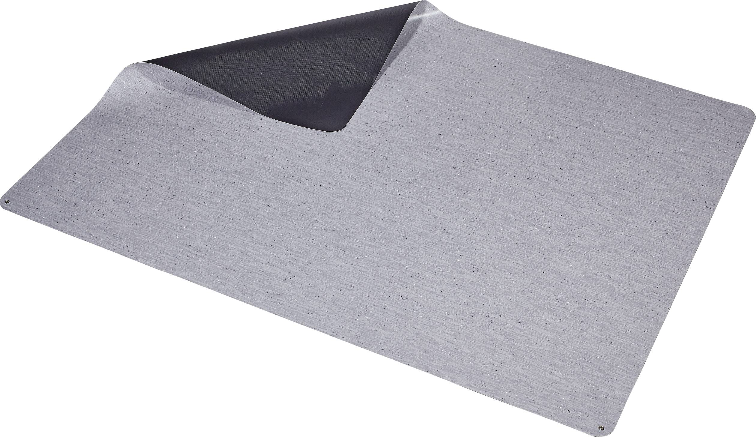 ESD podlahová rohož Wolfgang Warmbier 1250.47002.L, (d x š x v) 2000 x 1500 x 2 mm, šedá