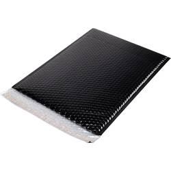 Bublinková obálka 1337473, (d x š) 369 mm x 262 mm, černá, plast