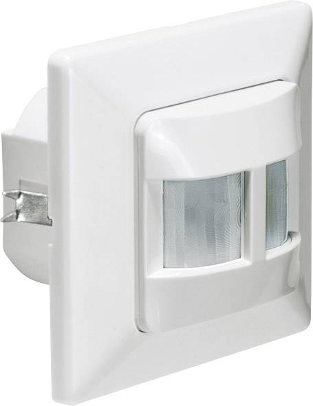 Detektor pohybu PIR GEV 018419, 180 °, relé, bílá, IP20