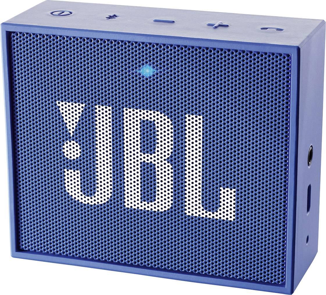 Bluetooth reproduktor JBL GO modrá
