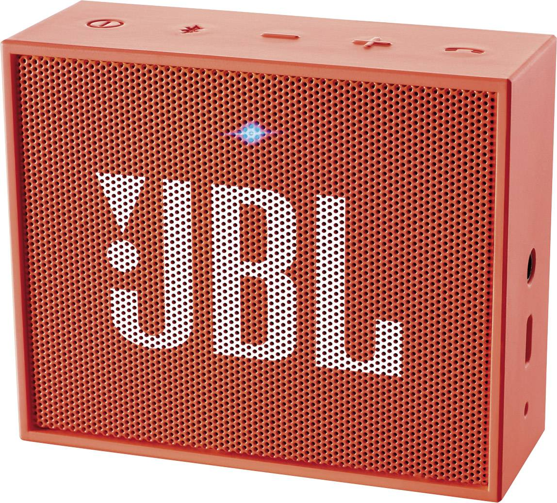 Bluetooth reproduktor JBL GO oranžová