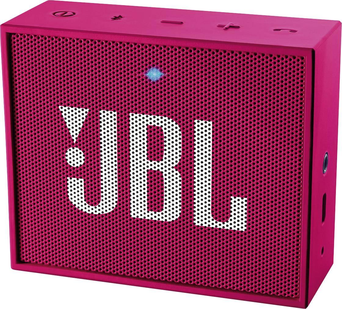 Bluetooth reproduktor JBL GO ružová