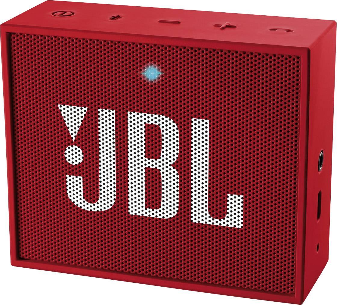 Bluetooth reproduktor JBL GO červená