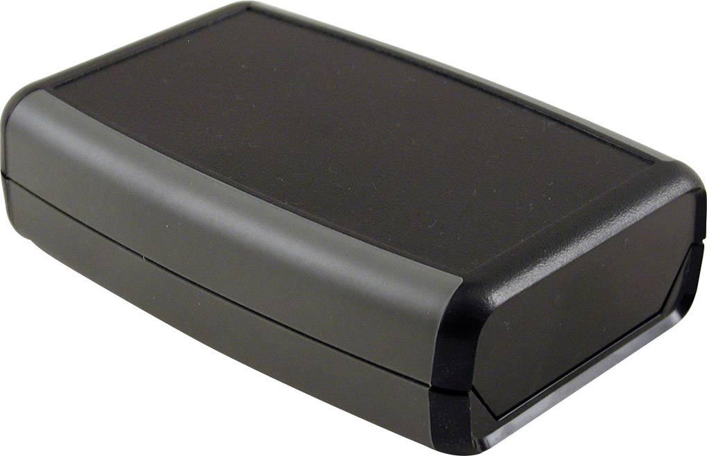 Plastová krabička Hammond Electronics 1553WCBK, 117 x 79 x 32 mm, ABS, IP65, čierna, 1 ks
