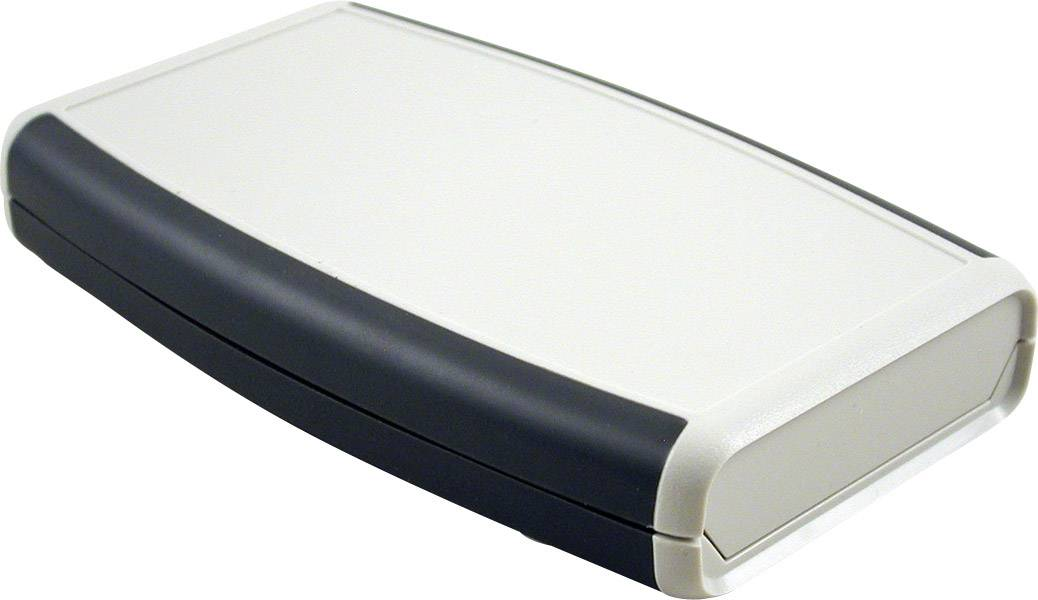 Plastová krabička Hammond Electronics 1553WDGY, 147 x 89 x 25 mm, ABS, IP65, svetlo sivá, 1 ks