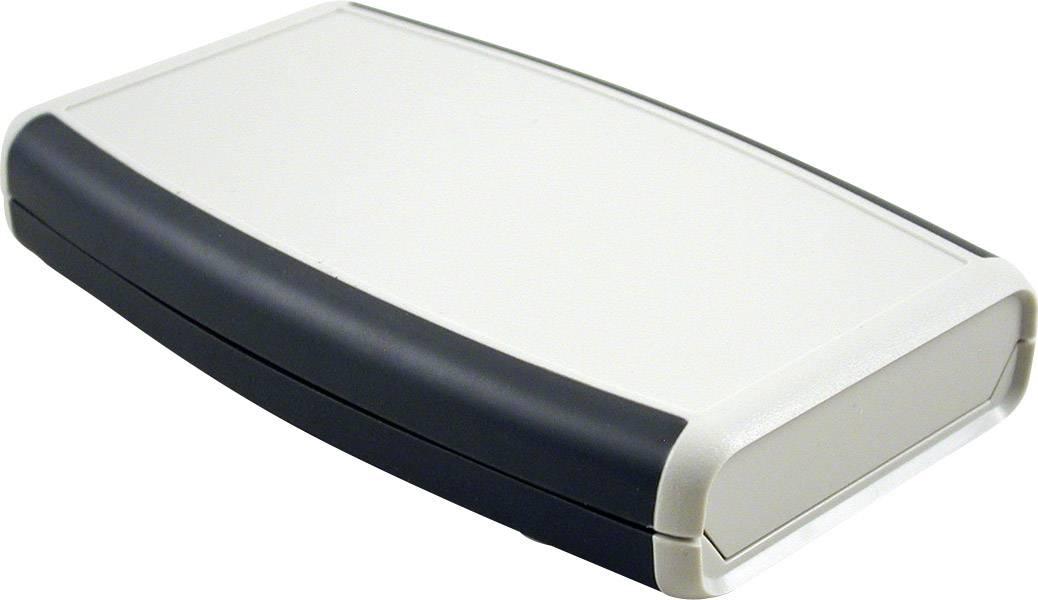 Plastová krabička Hammond Electronics 1553WDGY, 147 x 89 x 25 mm, ABS, světle šedá, 1 ks