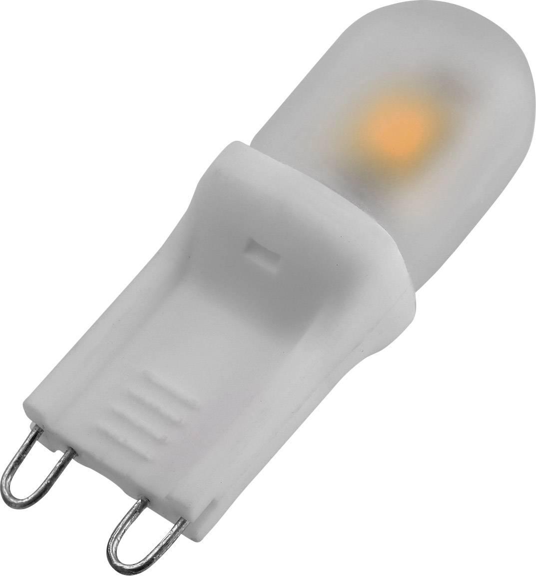 LED žiarovka DioDor DIO-LEDG9N-1 230 V, 2 W = 15 W, teplá biela, A+, 1 ks