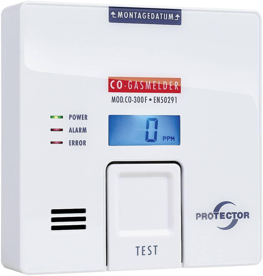 Detektor úniku oxidu uhoľnatého (CO) Protector CO-300F, na batérie
