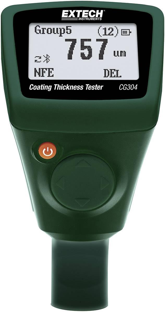 Ultrazvukový, vířivý proud měřič tloušťky vrstvy Extech CG304, 0 - 2000 μ m