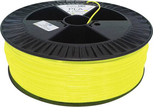 Vlákno pro 3D tiskárny German RepRap 100265, ABS plast, 3 mm, 2.1 kg, jasně žlutá