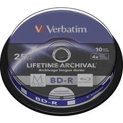 M-DISC Blu-ray 25 GB Verbatim vreteno, 43825, možnosť potlače, 10 ks