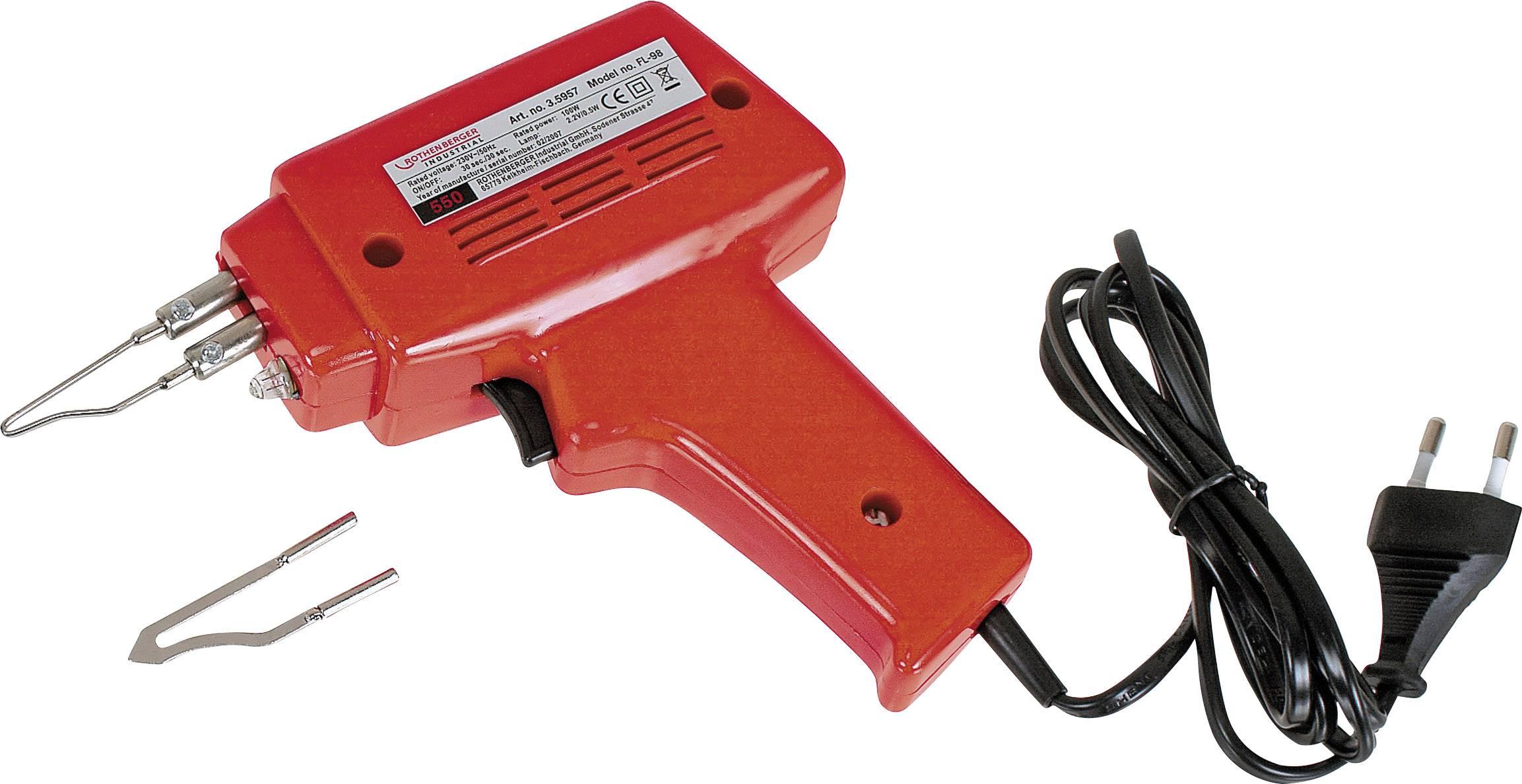 Transformátorová spájkovačka Rothenberger Industrial RoQuick 35957, 230 V, 100 W