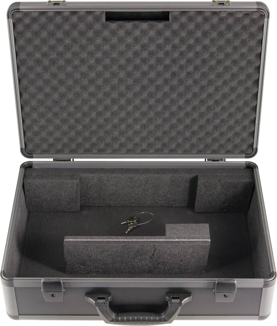 Kufrík s vnútorným členením Gossen Metrawatt PRCD Adapter Case Z512R pre Profitest PRCD a AT16-DI / AT32-DI