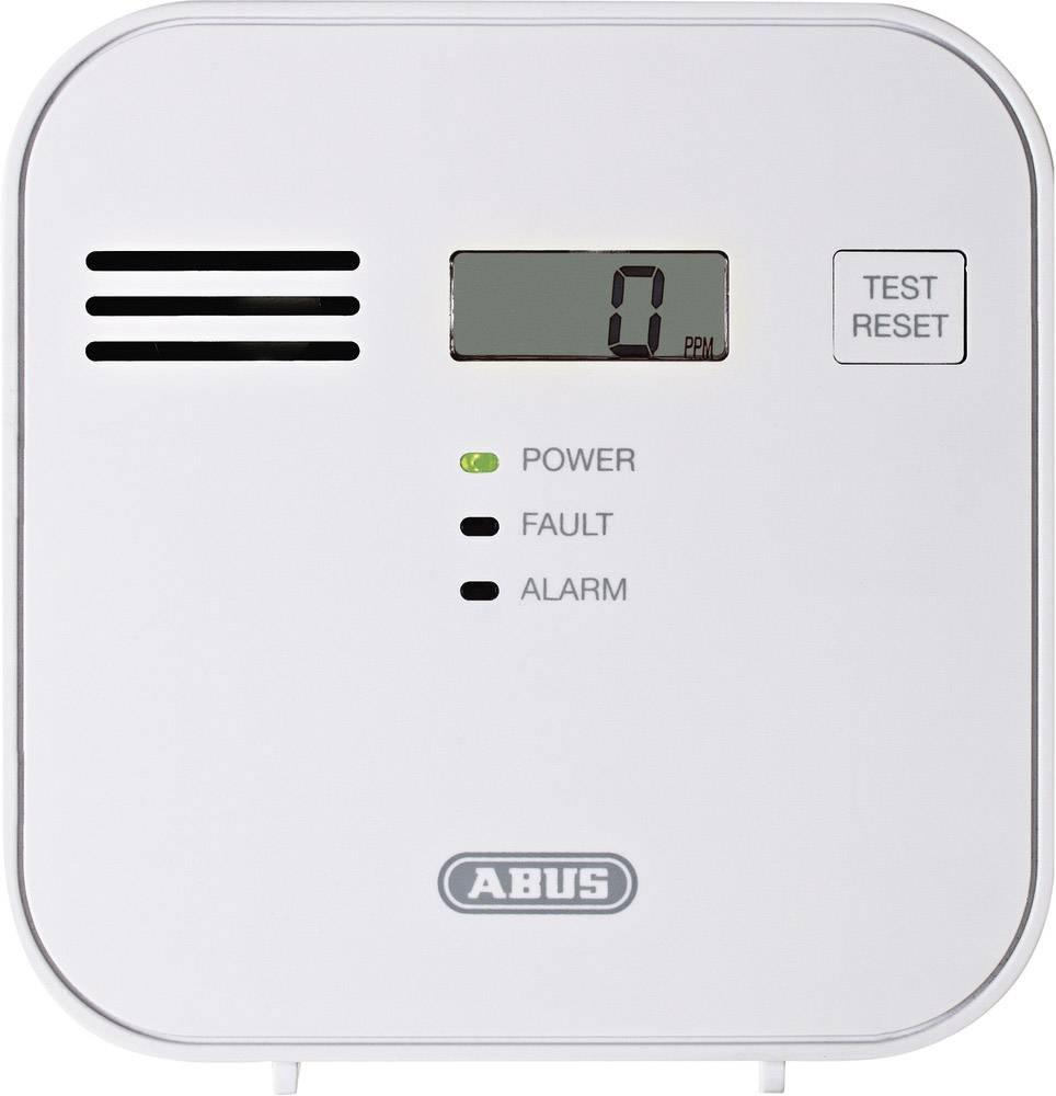 Detektor úniku oxidu uhelnatého (CO) ABUS COWM300, na baterii