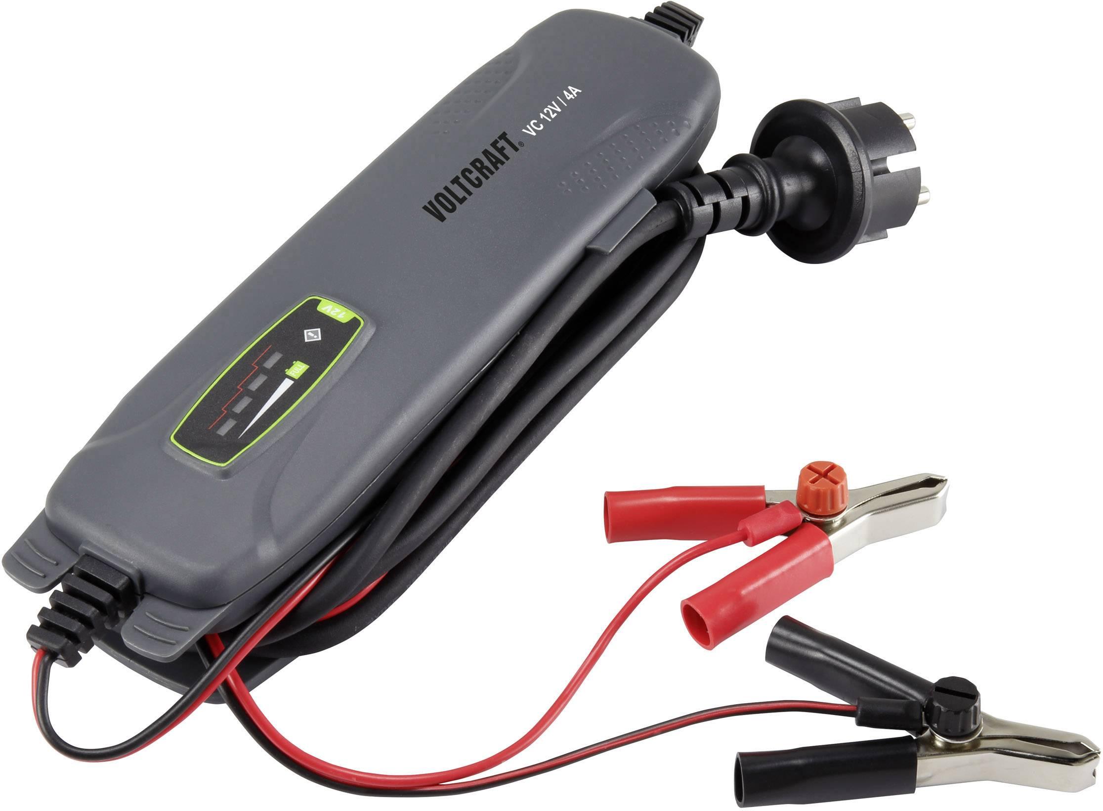 Automatická nabíjačka autobatérií Voltcraft, 4 A, 12 V